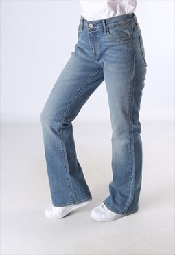 LEVIS Demi Cure Classic Bootcut Denim Jeans Flare UK 12 JC5K