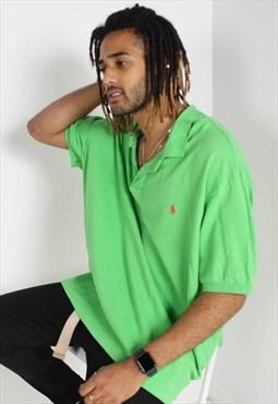 Vintage Polo Ralph Lauren Polo Shirt Green