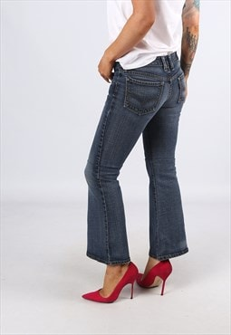 KICK FLARE LEVIS Reworked Jeans Flared UK 8 (H31I)