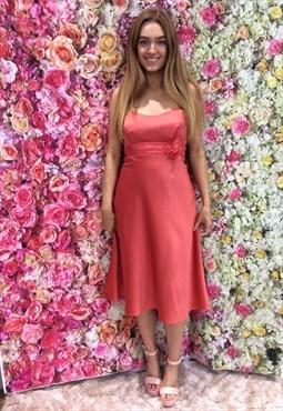 Sweetheart  Prom, Evening or Bridesmaids Satin Dress