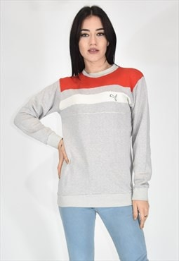 PUMA sporty gray cotton sweatshirt