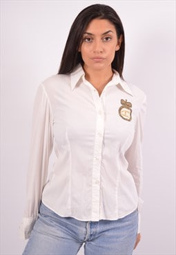 Vintage Just Cavalli Shirt White