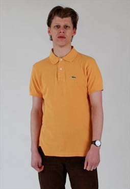 90s Lacoste pique cotton gold Polo shirt size 5