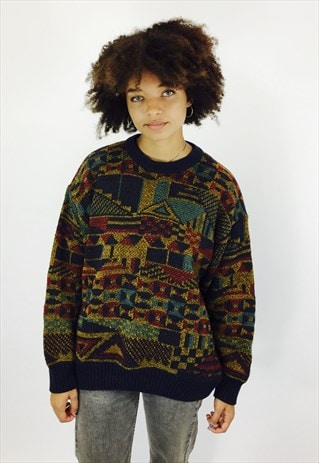 GORGEOUS JAEGER KNITTED JUMPER