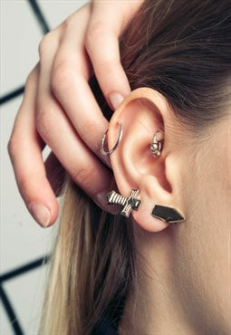 Sword ear cuff - 90s vintage deadstock earring