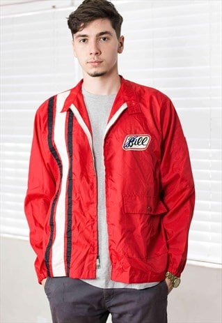 VINTAGE RACING JACKET LOGO 90S L 8.4