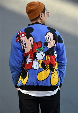 Vintage Unisex 'Mickey & Minnie' Reversible Jacket