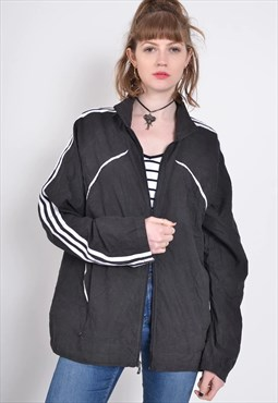 Vintage Adidas Shell Jacket Black