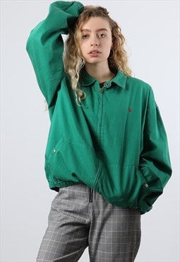 Vintage Ralph Lauren Large Green Harrington Jacket