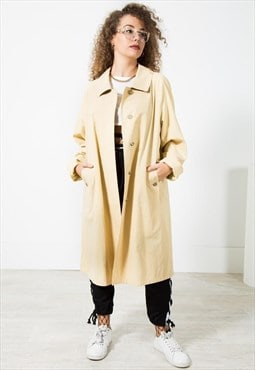 Vintage 80s Original Burberry Trench / S2098