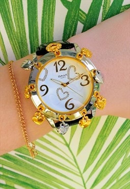 Omax Lucky Charm Statement Watch