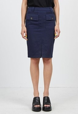 Vintage Navy EMPORIO ARMANI Mini Skirt