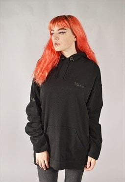 Vintage The Darkside Hoodie Black