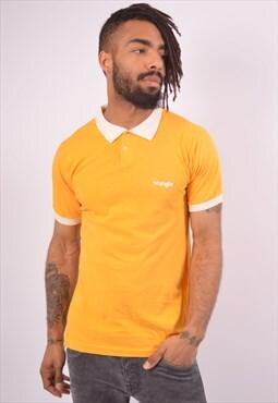 Vintage Wrangler Polo Shirt Yellow