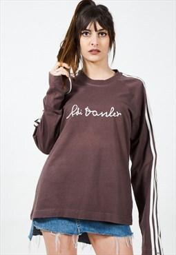 Vintage Style 90s Adidas Sweatshirt /  S4141