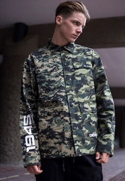 Demos Camo waterproof war shirt jacket