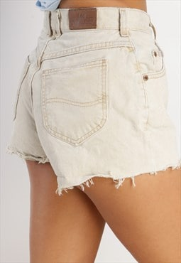 Vintage Lee reworked denim shorts ML29