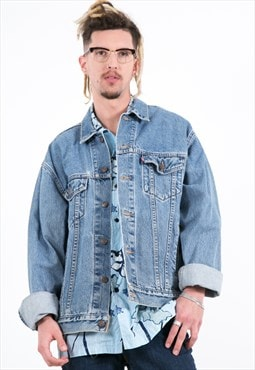 Vintage 80s Original Levi's Denim Trucker Jacket / 7502