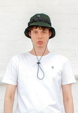 Fletcher Bungee Bucket Hat - Khaki