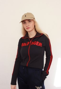 Vintage 90s Tommy Hilfiger Sports Gym Track Jacket