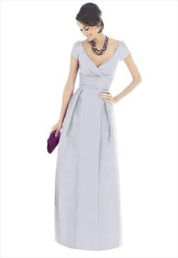 stunning long evening dress