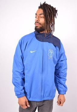 Vintage Nike Tracksuit Top Jacket Blue
