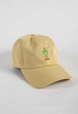 Casquette Curve Cactus Fuck - Jaune