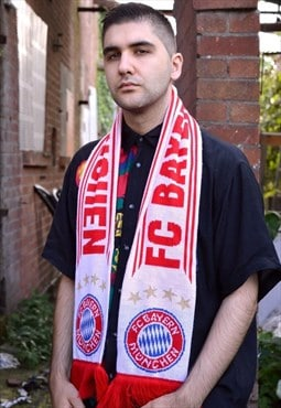 Bayern Munich Vintage Football Scarf