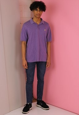 Purple Ralph Lauren Vintage Polo T shirt