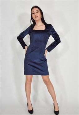 Moschino jeans dress blue