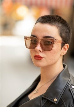 Women's Bianca Nude Women's Brown Sunglasses