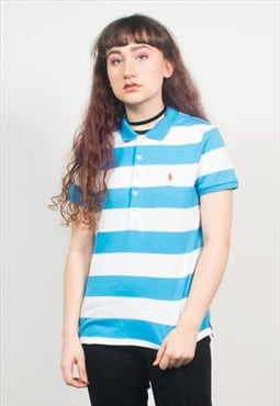 Vintage 90's Ralph Lauren Striped Polo T-Shirt