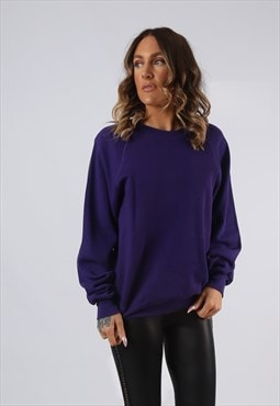 Sweatshirt Jumper LEE Oversized Coloured PLAIN UK 14 (KI5E)