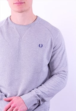 Vintage Fred Perry Sweatshirt in Grey