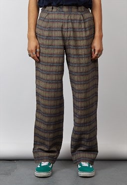 Vintage 80's Missoni check trousers
