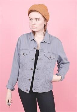 Vintage Grey Levi's Denim Jacket /R7134