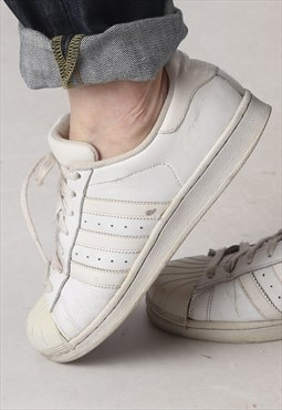 Adidas Shell toe Superstars trainers UK 7.5, US 8 (KEB)