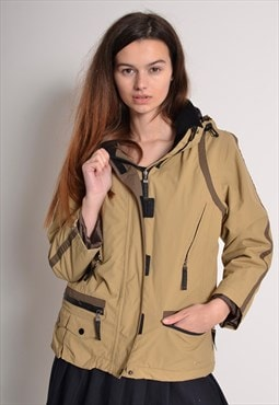 Vintage Alpha Industries Ski Padded Jacket Beige