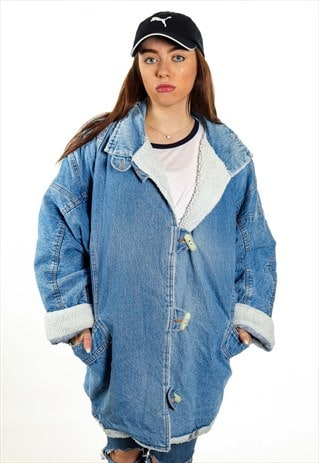 VINTAGE DENIM SHAPER JACKET J2312