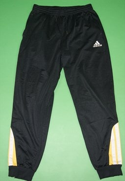 Vintage Adidas 3 Stripe Track Pants / Tracksuit Bottoms