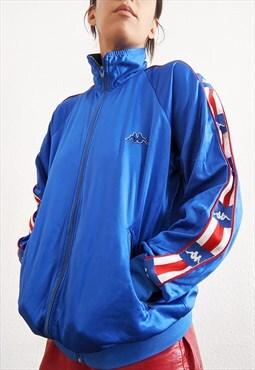 Vintage Kappa zip up track Jacket