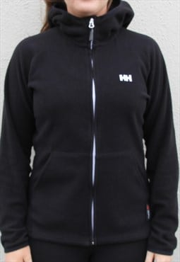 Helly Hansen Fleece Jacket Size Women's S/M Black