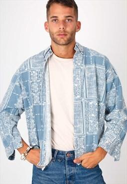 Vintage Pattern Shirt NS1112