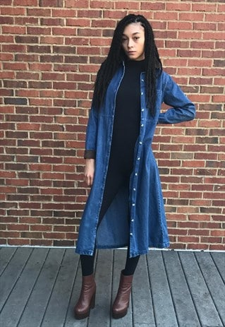 VINTAGE DENIM COAT