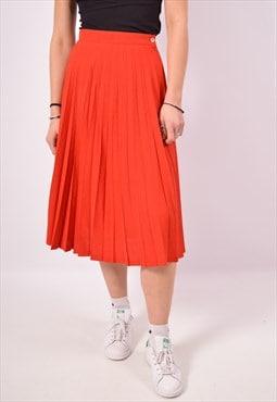 Vintage Skirt Red