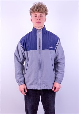 Vintage Ellesse Jacket in Grey & Blue