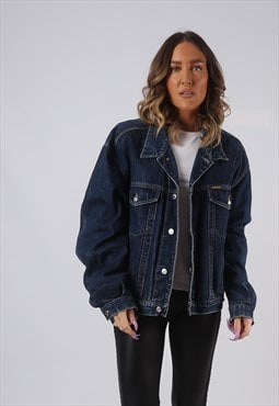 Denim Jacket DIESEL Oversized Fitted Vintage UK 18  (HWCD)