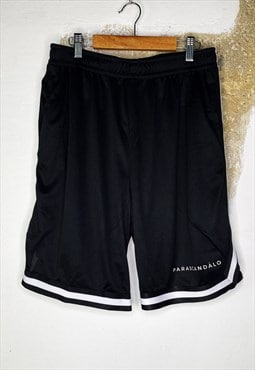 Black and white contrast shorts