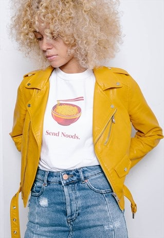 SEND NOODS GRAPHIC T-SHIRT