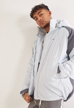 Vintage Nike Coat Light Pastel Blue